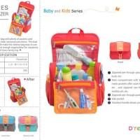 Murah Toiletries Bag Organizer Kids Light (Tas Perlengkapan Bayi Anak)