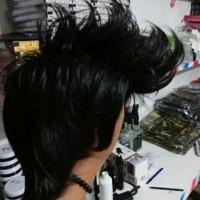 wig cowok rambut palsu cowok keren model spike korea w kosmetik b