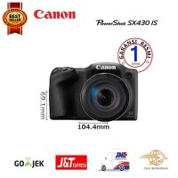 Kamera Canon Powershot SX430 IS Digital Camera - Black