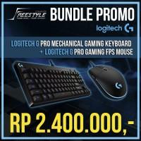 Logitech G Pro / GPro Keyboard + Mouse Bundle Free T-Shirt&Rubberband