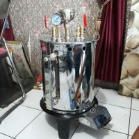 Paket Setrika Uap Gas 10 Liter 1 setrika laundry konveksi gorden
