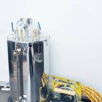 Paket Setrika Uap Gas 15 Liter 2 setrika laundry konveksi gorden
