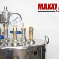Paket Setrika Uap Gas 25L 3 setrika untuk laundry konveksi gorden