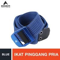 Eiger Conveyor Belt - Blue L / Ikat Pinggang Pria