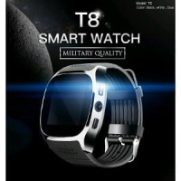 T8 Smartwatch Bluetooth Support SIM TF Card Kamera Life Waterp