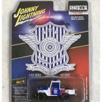 Johnny Lightning Indonesian Police - 1980 Toyota Land Cruiser