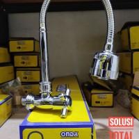 Kran ONDA V 688 CA Keran angsa fleksibel / flexible Dapur Cuci piring