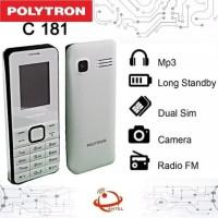 Polytron C181 Dual SIM Kamera Digital Radio FM