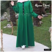 Gamis Alpine green size M original Wanoja
