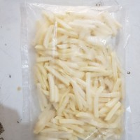 Kentang french fries shoestring kemasan ekonomis 500gr curah