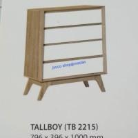 Lemari Laci Tall Boy Graver -TB2215 -Medan