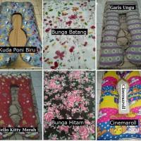 1 Bantal + 1 Sarung Bantal Ibu Hamil Maternity Pillow - RT429 Duo