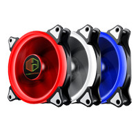 CUBE GAMING AURA Lite Version RGB RING FANS - 3 Pcs Ring Fan + Remote
