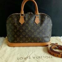 Jual Tas Louis Vuitton Alma Original Second Preloved Bekas LV