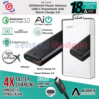 POWERBANK AUKEY PB-XD20 20100mAh QUICK CHARGE 3.0 POWER DELIVERY USB C