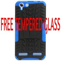 Casing Rugged Armor Lenovo Vibe K5 Plus/Lemon 3/K5 Soft Case KickStand