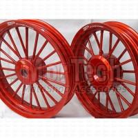 Velg Pelek Racing Motor TOP Andong Dokar Ring 14 Vario 110 karbu / FI