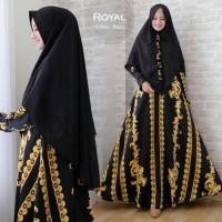 Gamis Syari Maxmara Royal Hitam/Black