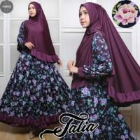 Gamis Syari Talia Purple/Ungu