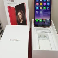 HP OPPO F5 RED RAM 6/64GB SECOND
