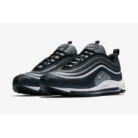 Sepatu Sneakers Desain Nike Air Max 97 Ultra 17 Warna Hitam Putih