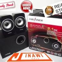 Speaker advance murah ngebass s100a