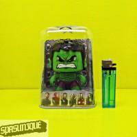 Action Figure MIGHTY MUGGS Hulk Ganti EKSPRESI Wajah