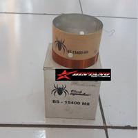 SPUL / VOCIE COIL SPEAKER 15 INCH BLACK SPIDER BS-15400 M8
