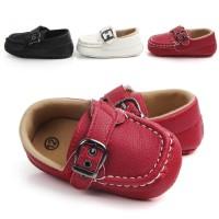 PW52 - prewalker fantofel polos gesper baby shoes sepatu anak bayi boy