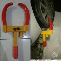Limited Kunci gembok kunci pengaman mobil model di roda ban