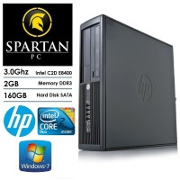 HP 4000 CORE 2 DUO|DDR3 2GB|HDD 160GB|KOMPUTER DESKTOP PC