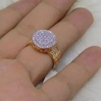 (Cincin) cincin emas kuning cartier perhiasan mas 70% gold original