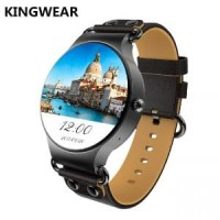 KINGWEAR KW98 3G Android 5.1 Smartwatch Phone Black Murah