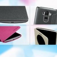 LG G4 Stylus H540 Flip Cover View NILLKIN SPARKLE Case Berkualitas