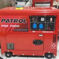 Genset diesel silent solar PATROL 5000 watt (100% TEMBAGA) HARGA PROMO