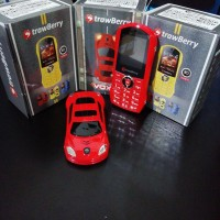 HP Strawberry Voxy ST1 unik model mobil - Dual Sim card dan FM radio
