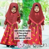 Harga gamis anak vega banana gamis anak pakaian muslim anak | Pembandingharga.com