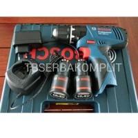 BOSCH GSB 1080-2-LI CORDLESS Mesin Bor Tembok Beton Obeng Baterai Te