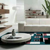 Karpet Bulu Tikar Karpet Lantai Minimalis PP Rugs Modern Ukuran 160 x