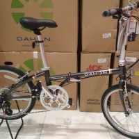 Sepeda Lipat Folding Bike 20 inch Dahon Broadwalk D8 8 Speed Terlari