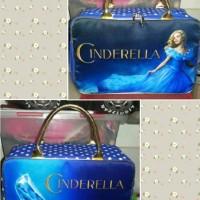 Travel bag Kanvas motif cinderella