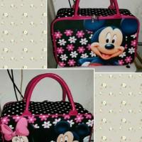 Travel bag Kanvas motif MC Bunga