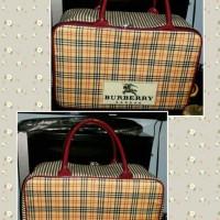 Travel bag Kanvas motif Cewe Dewasa