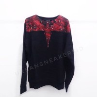 MARCELO BURLON RED CAMOU WINGS SWEATSHIRT ORIGINAL | SWEATER BURLON