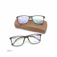 Frame Kacamata Minus Optik CARTIER + Lensa Antiradiasi