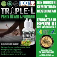 TRIPLE-L Minyak L.i.n.t.a.h Papua Original Higienis Memperbesar Anu