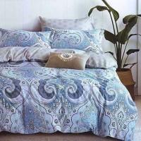 Bedcover Set Katun Jepang 200x2200x25 Blue Batik