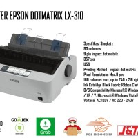 Printer Kasir Dot Matrix Epson LX-310