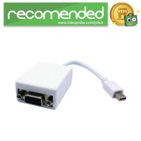 VZTEC Adapter Mini DisplayPort Male ke VGA Female 20Cm - VZ-VU1603 -