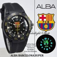 JUAL JAM TANGAN ALBA BARCELONA WITH BACKLIGHT SUPER